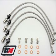 Subaru Impreza GC8 Stainless Brake Line Kit 1992-2000